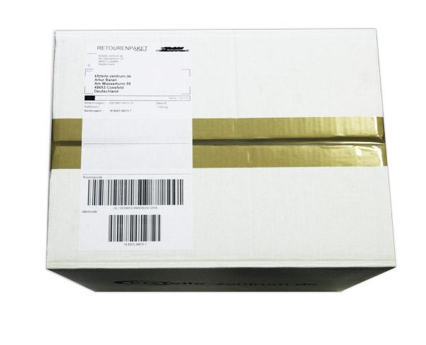 Lackierung und Verpackung